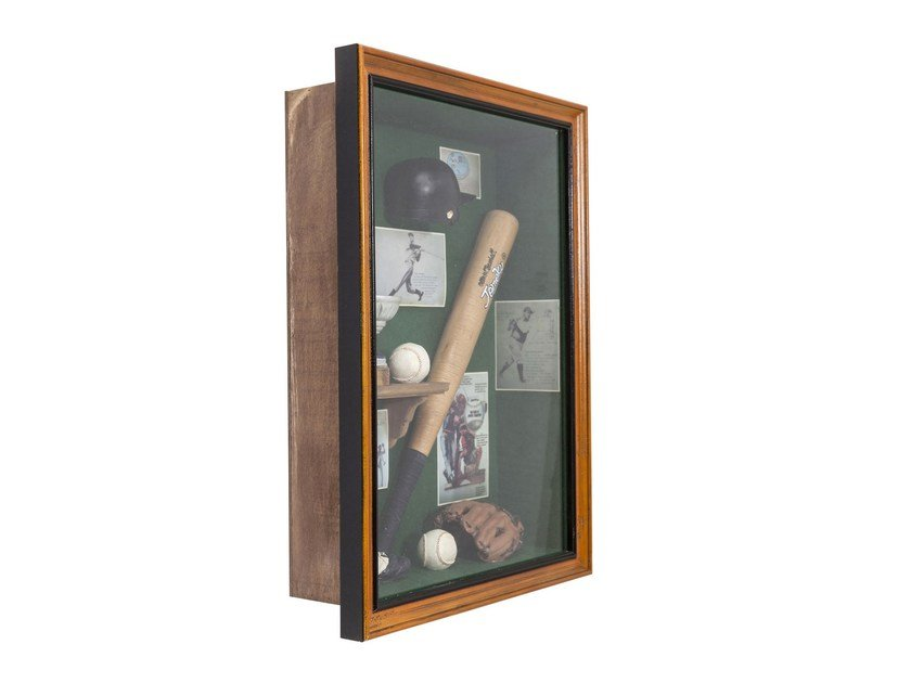 Wall decor item SHADOW BOX BASEBALL - KARE-DESIGN