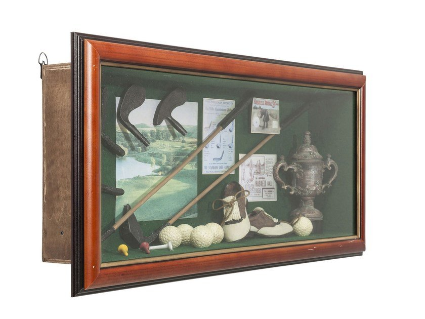 Oggetto decorativo da parete SHADOW BOX GOLFER - KARE-DESIGN