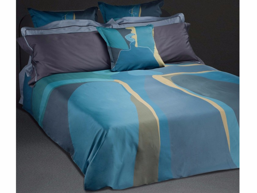 Cotton bedding set SHADOW KISS KING SET - sans tabù