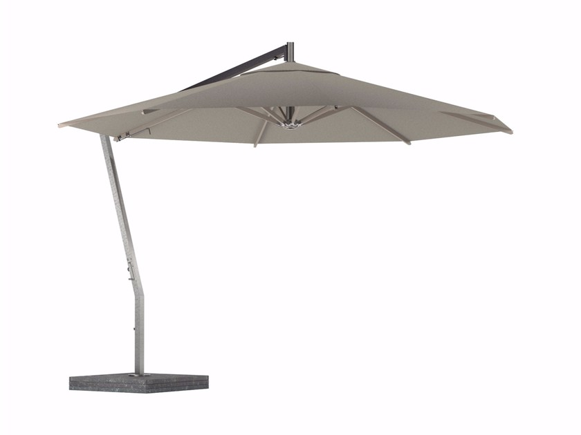 Offset stainless steel Garden umbrella SHADY | Offset Garden umbrella by ROYAL BOTANIA