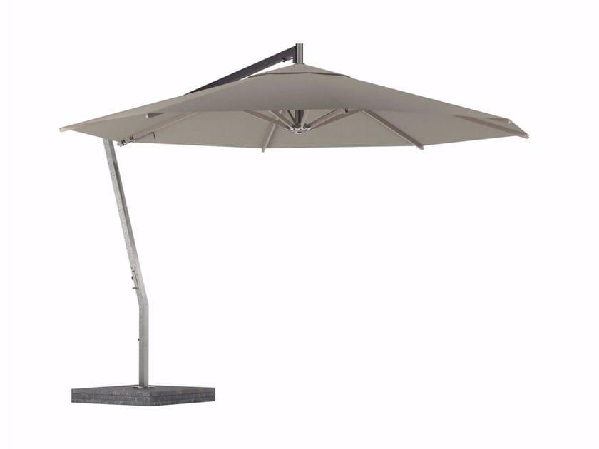 Ombrellone in acciaio inox con palo laterale SHADY | Ombrellone con palo laterale by ROYAL BOTANIA