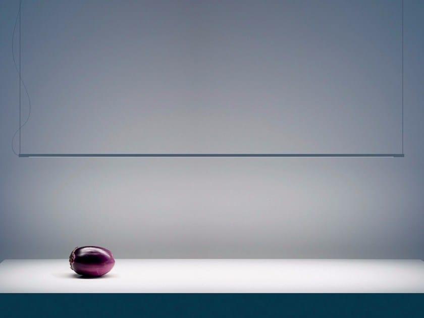 LED metal pendant lamp SHANGAI - DAVIDE GROPPI