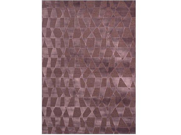 Rectangular viscose rug SHANGHAI by Sirecom Tappeti