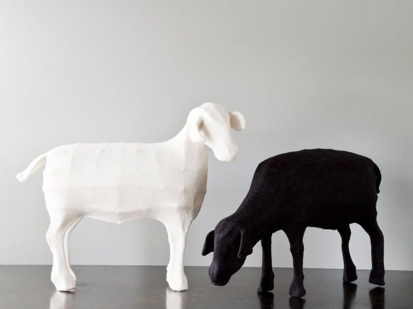 Wool felt sculpture SHEEP by Ronel Jordaan™