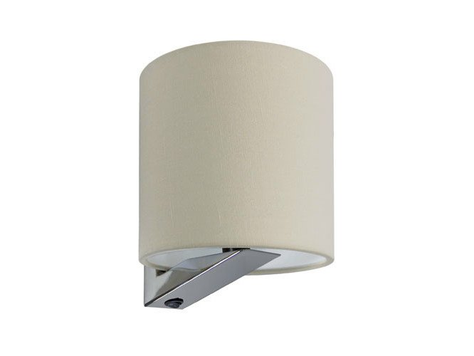 Canvas wall light with fixed arm SHEILA - Quicklighting
