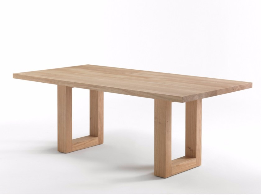 Rectangular solid wood table SHERWOOD 2013 - Riva 1920