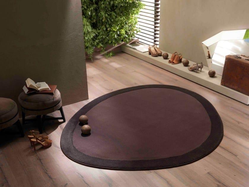 Contemporary style custom synthetic fibre rug SHIELD | Custom rug - Besana Moquette