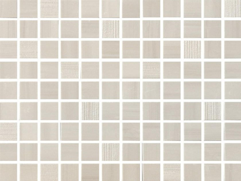 White-paste mosaic SHINE Quarzo - Impronta Ceramiche by Italgraniti Group