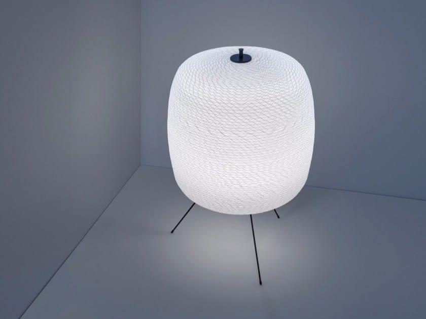 LED floor lamp with dimmer SHOJI - DAVIDE GROPPI
