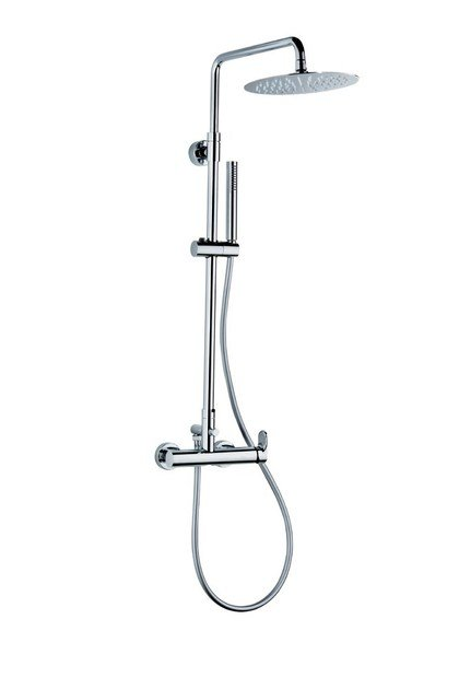 Single handle shower mixer with diverter with hand shower SHOWER COLUMNS | Shower mixer - NEWFORM