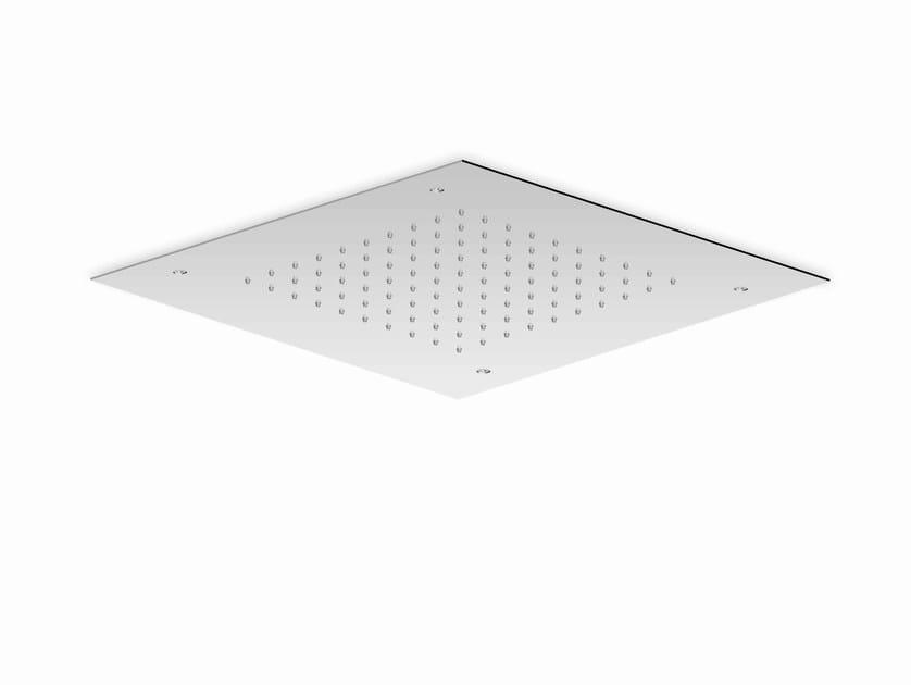 Extra flat stainless steel rain shower SHOWER PLUS | Rain shower - ZUCCHETTI