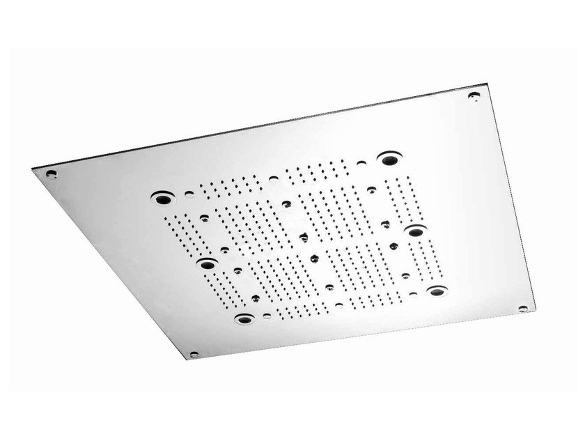 Ceiling mounted overhead shower for chromotherapy SHOWER PLUS | Ceiling mounted overhead shower by ZUCCHETTI