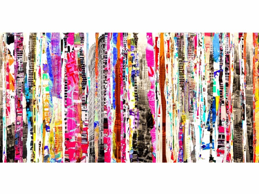 Photographic print SHREDS OF CITY II - FINE ART PHOTOGRAPHY by 99 Limited Editions
