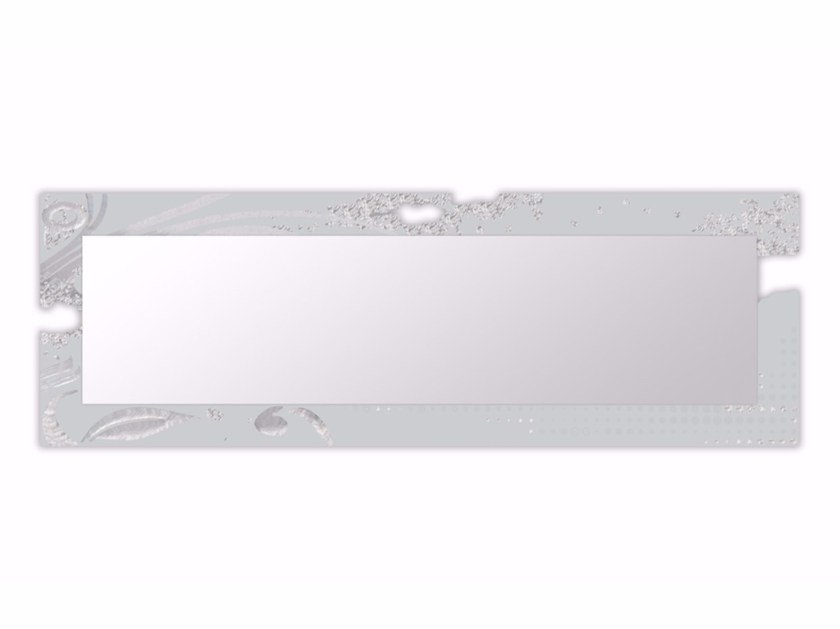 Rectangular framed mirror SI-092-SP | Mirror - L.A.S.