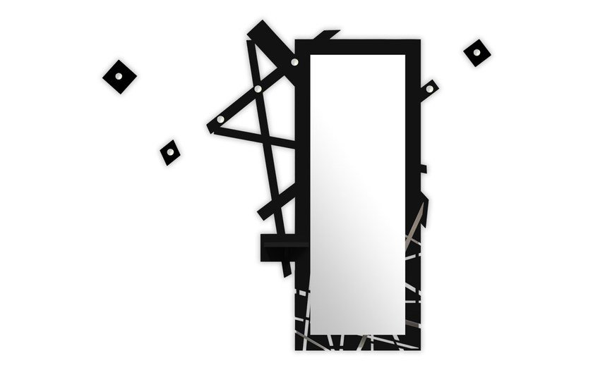 Wall-mounted hall mirror SI-293 | Hall mirror by LAS