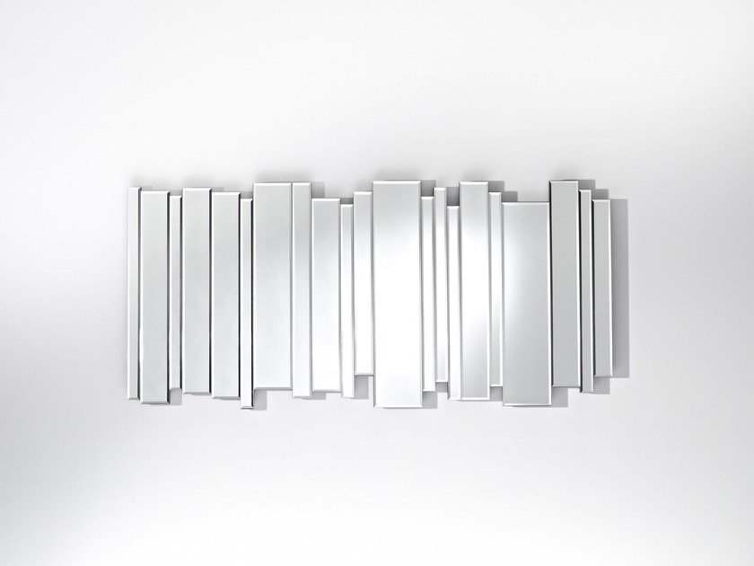 Rectangular wall-mounted mirror SIDE BY SIDE - DEKNUDT MIRRORS
