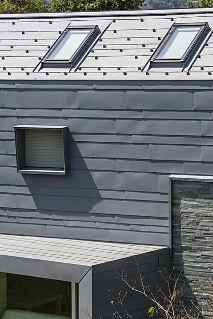 Sistemi per facciate doga di rivestimento in alluminio prefa italia - Imbotti in alluminio per finestre ...