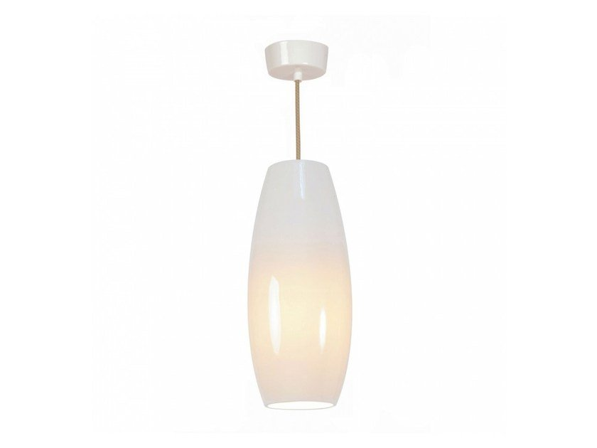 Direct light porcelain pendant lamp with dimmer SIDNEY LARGE - Original BTC