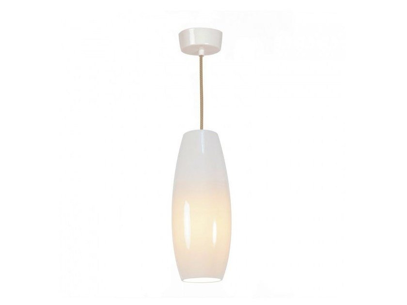 Direct light porcelain pendant lamp with dimmer SIDNEY SMALL - Original BTC