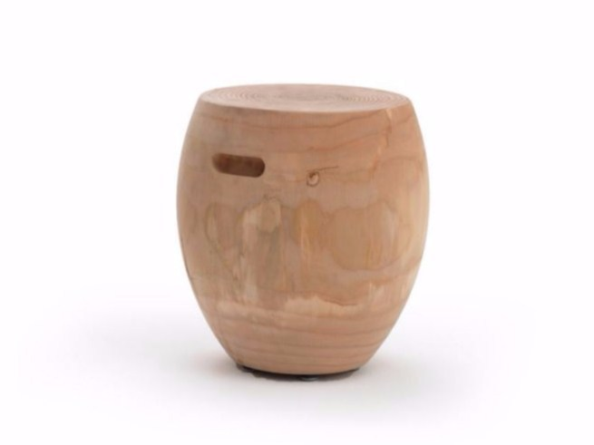 Wooden stool SIESTA - Riva 1920