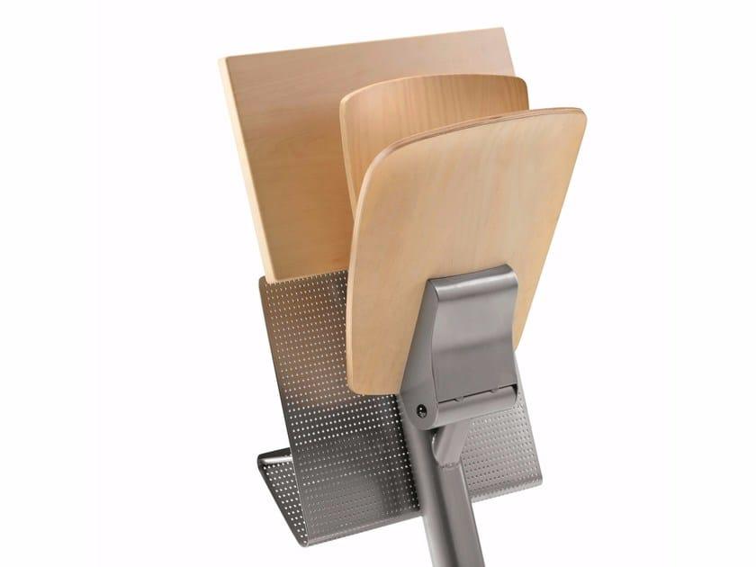 Banco in MDF con sedie integrate VEKTA A 107 - TALIN