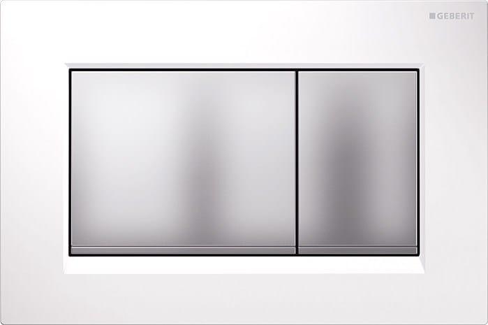 Placca di comando per wc in stile moderno sigma30 placca for Geberit italia