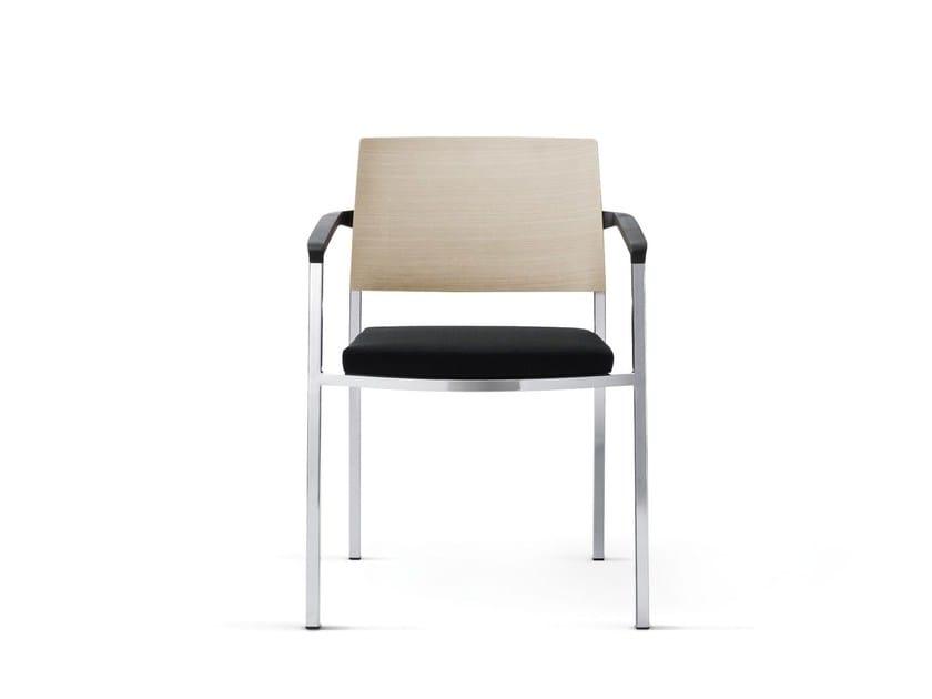 Sedia impilabile con braccioli SIGN_2 | Sedia con braccioli by Wiesner-Hager