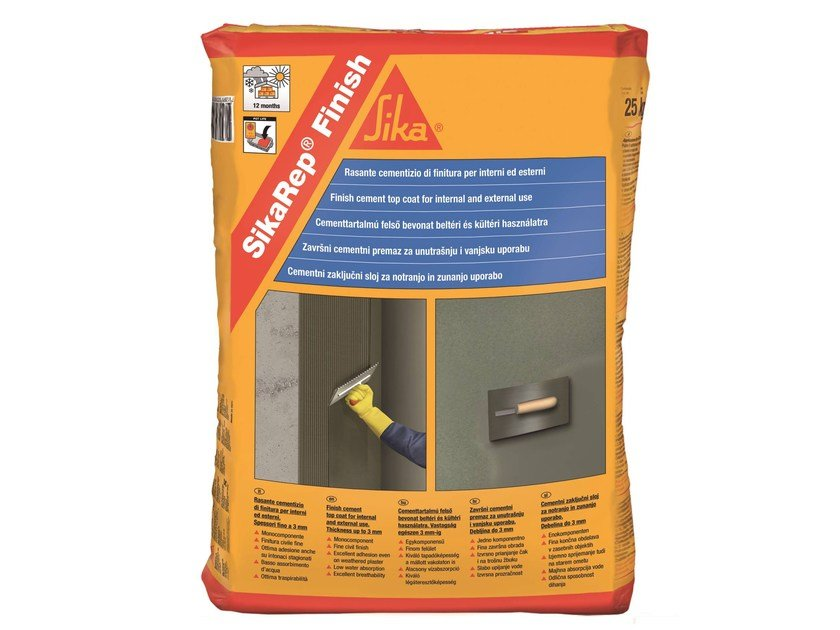 Smoothing compound SIKAREP® FINISH by SIKA ITALIA