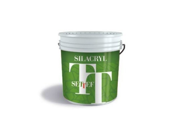 Exterior finish SILACRYL 3D PLUS - SETTEF