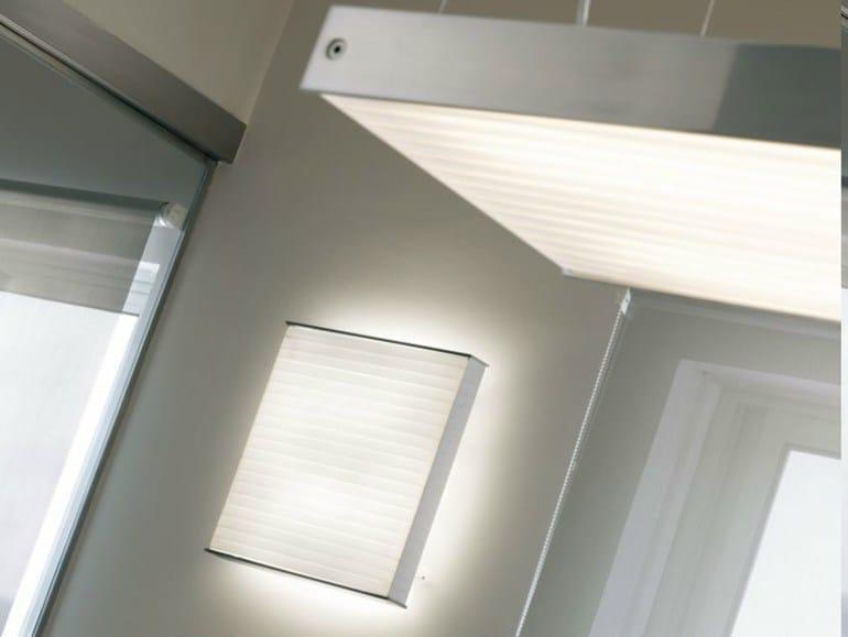 Aluminium wall light SILANTRA - BOVER Il. Luminació & Mobiliario
