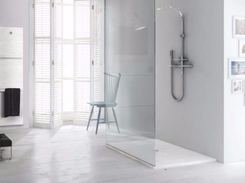 Piatto doccia filo pavimento incassato rettangolare in - Piatto doccia a filo ...
