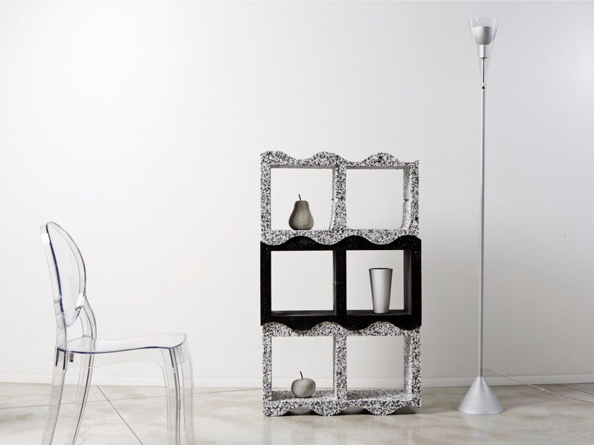 Open sectional modular bookcase SILHOUETTE - Be Different