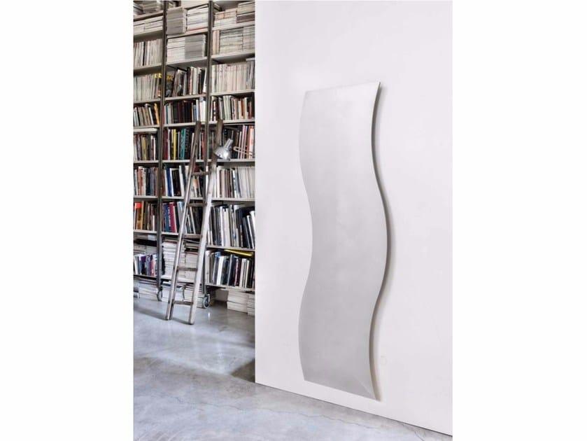 Wall-mounted aluminium radiator SILHOUETTE - RIDEA
