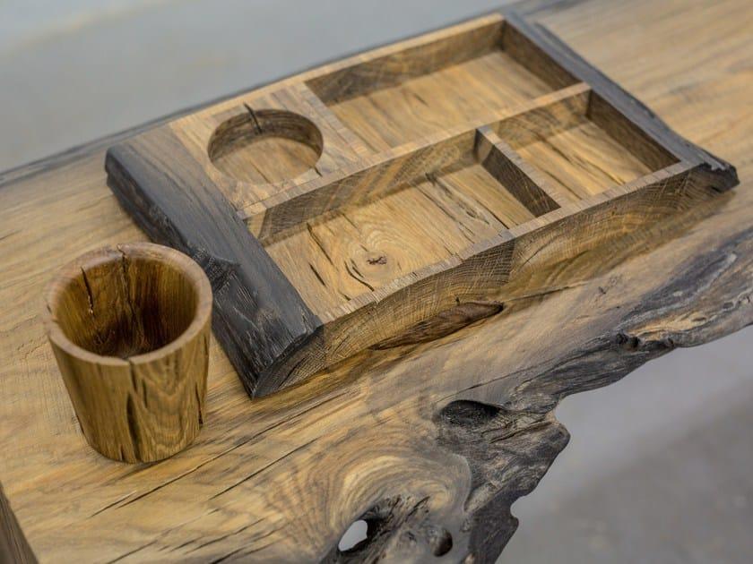 Bog oak storage box / desk set SILVA | Storage box by EDWOOD