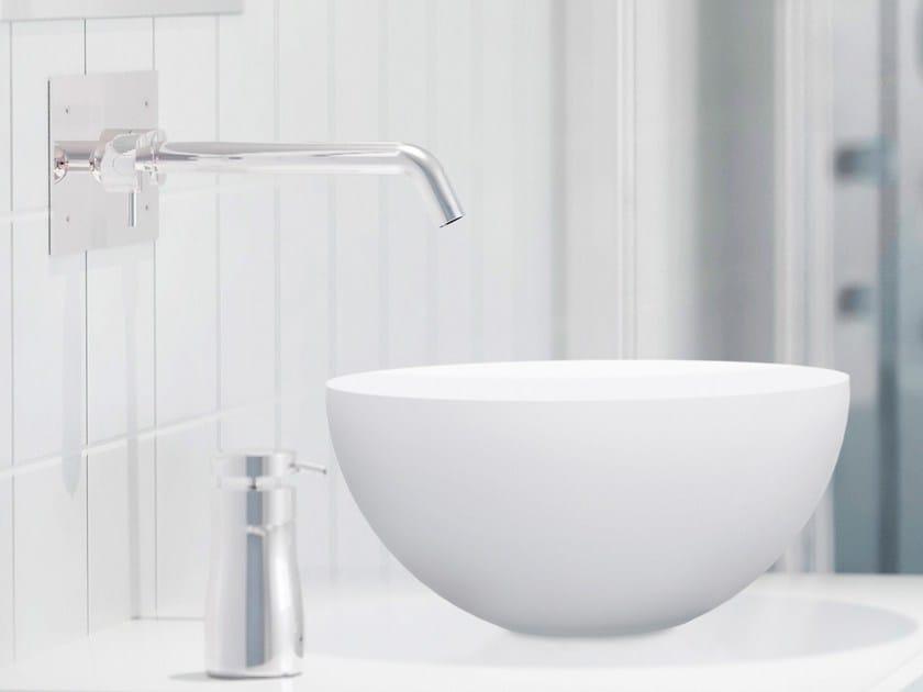 Countertop round Corian® washbasin CIRCULO - AMA Design