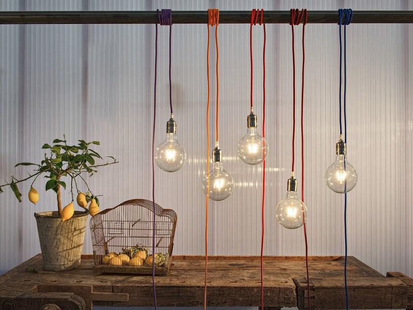 LED pendant lamp SIMPLE - Olev by CLM Illuminazione