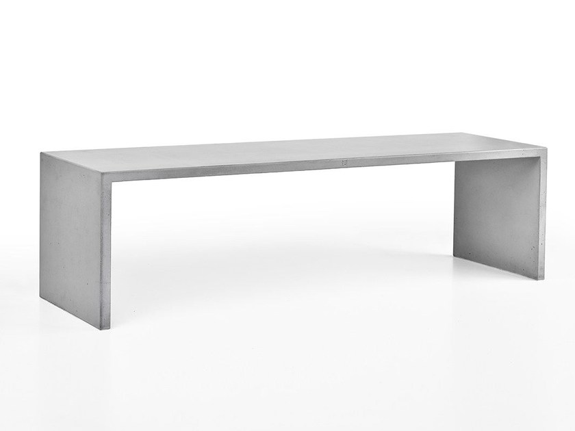 Concrete bench for public spaces SIMPLY - Gravelli