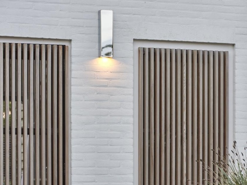 LED Wall Lamp SIMPLY PILLAR CHROME by PVD Concept
