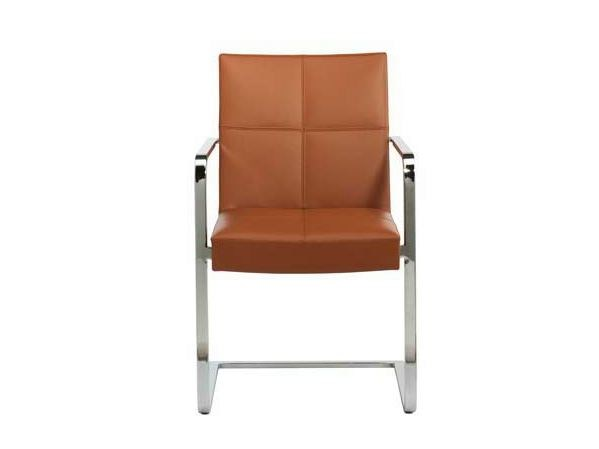 Cantilever chair with armrests SINA | Chair with armrests - Potocco