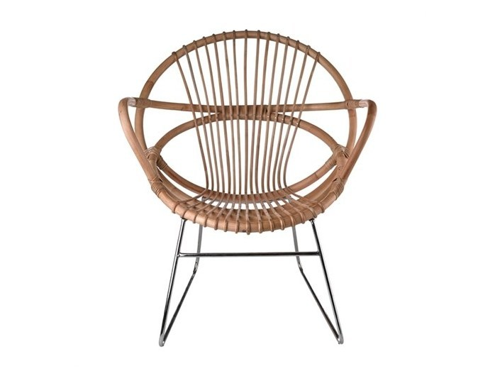Rattan easy chair SINGAPORE | Rattan easy chair - Pols Potten