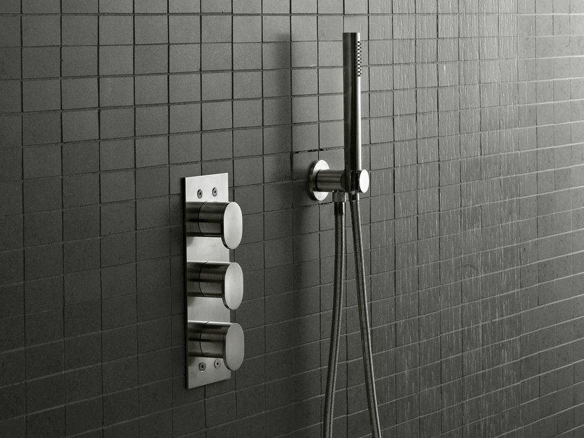 3 hole shower mixer SINOX | Shower mixer by Signorini