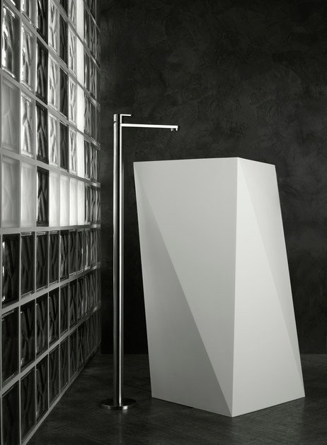 Floor standing washbasin tap without waste SINOX | Floor standing washbasin mixer - Signorini Rubinetterie