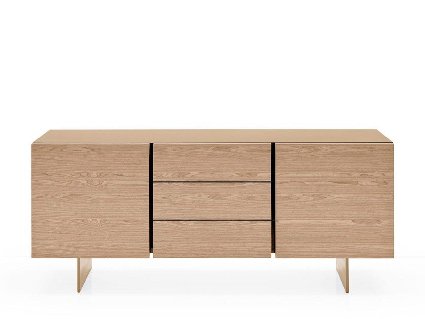 Lacquered sideboard with drawers SIPARIO | Sideboard with drawers - Calligaris