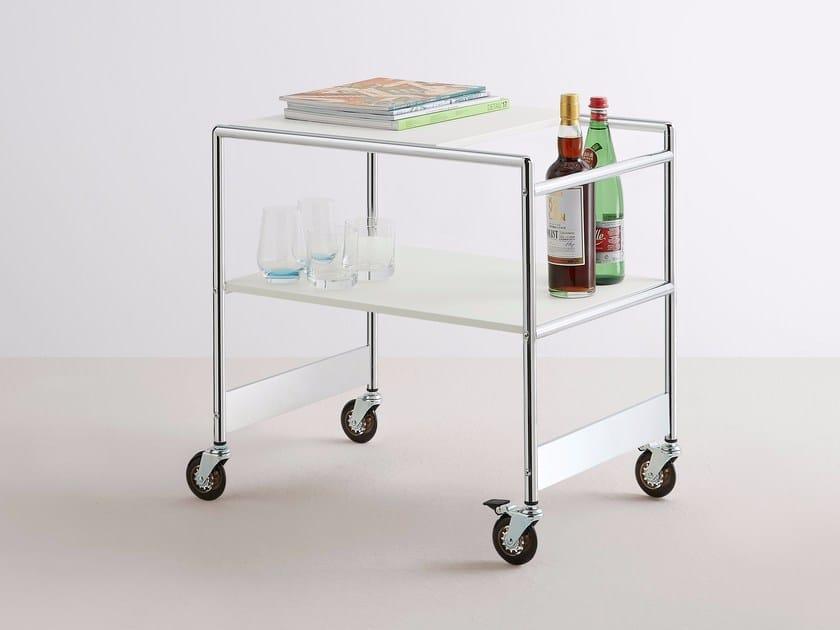 Steel food trolley SIR by MOX