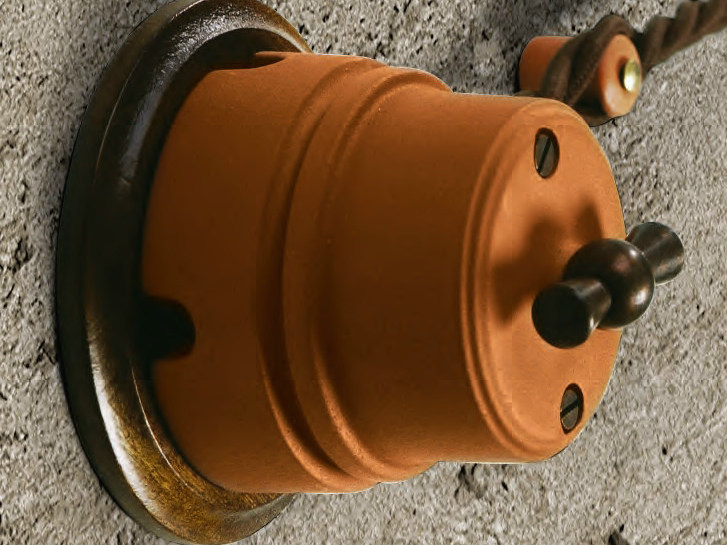 Ceramic electrical socket SIRIO | Electrical socket by Aldo Bernardi