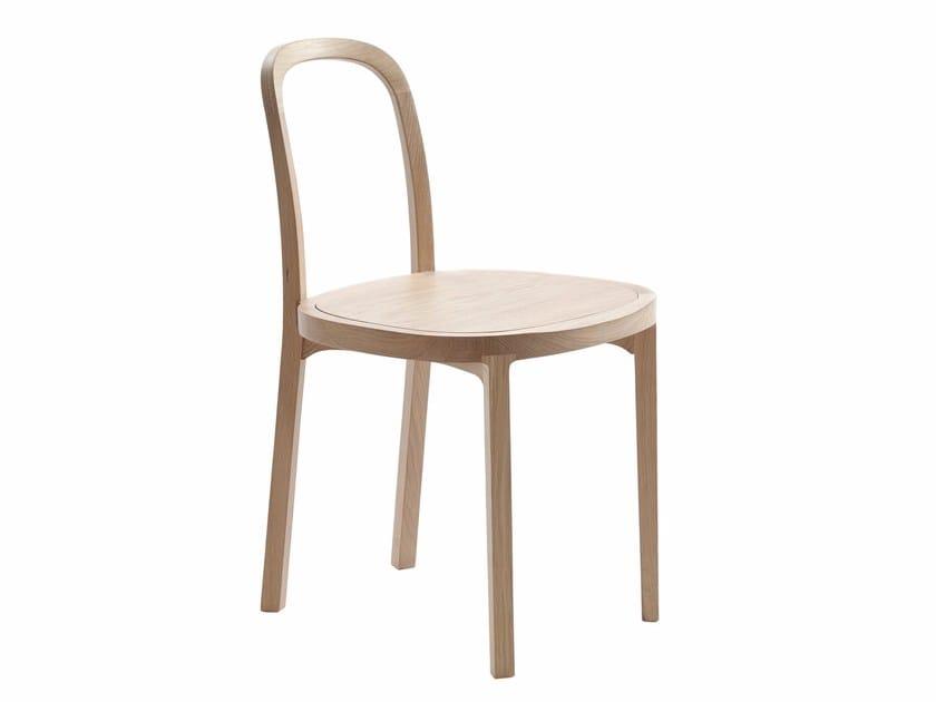 Oak chair SIRO + - Woodnotes
