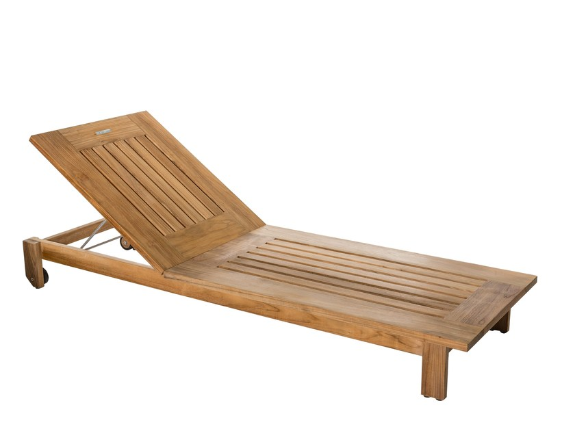 Recliner garden daybed with Casters SKANÖR | Garden daybed with Casters - Skargaarden