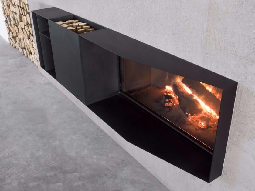 Wood-burning Boiler fireplace SKEMA - Antonio Lupi Design®