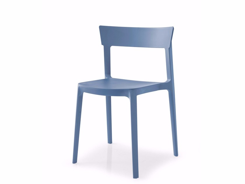 Polypropylene chair SKIN - Calligaris