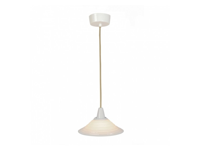 Direct light porcelain pendant lamp with dimmer SKIO | Pendant lamp - Original BTC